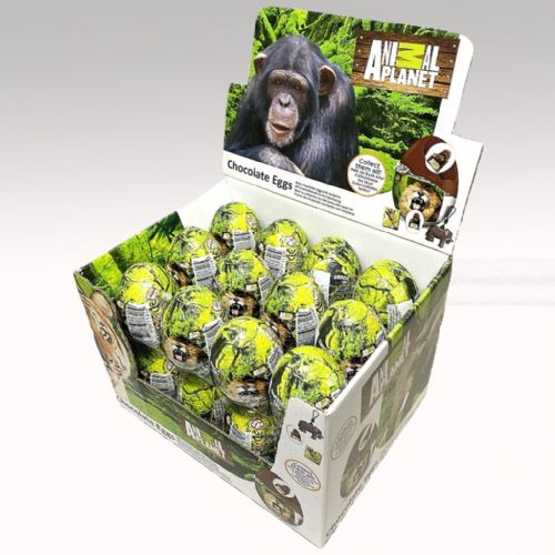 ANIMAL PLANET CHOCOLATE EGG WITH SURPRISE